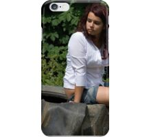 Portrait of a Teenager 30 iPhone Case/Skin