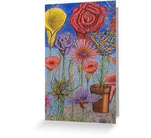 Ilonas' Garden Greeting Card