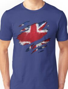 UK Flag Art Unisex T-Shirt