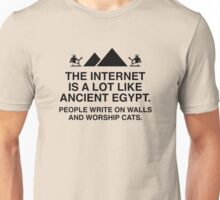 The Internet Is A Lot Like Ancient Egypt Unisex T-Shirt