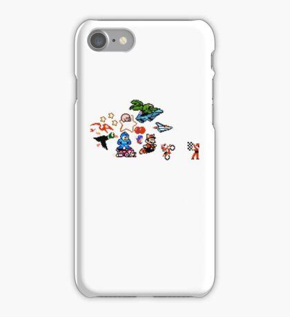 8-bit Race iPhone Case/Skin
