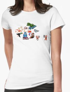 8-bit Race Womens Fitted T-Shirt