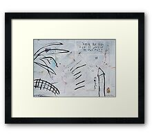 Midnight Garden cycle19 4 Framed Print