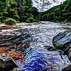 Relax and Flow Downstream by Rick Gold