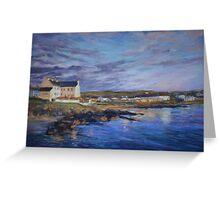 Port Charlotte, Islay - dawn Greeting Card
