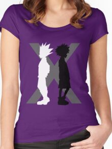 The Light and the Shadow Women's Fitted Scoop T-Shirt