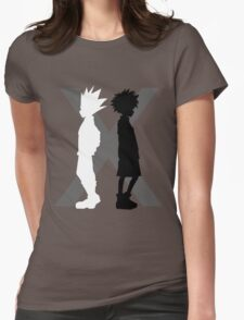 The Light and the Shadow Womens Fitted T-Shirt