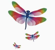 Paper Craft Dragonfly Kids Clothes