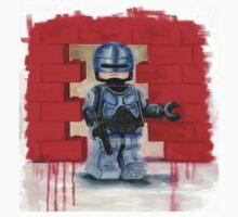 Robocop Lego Style Baby Tee