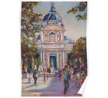 Place de la Sorbonne, Paris Poster
