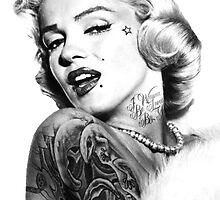 Marilyn Monroe  by William Andrew Rosato