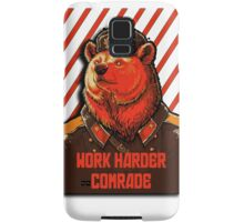 Vote Soviet bear - russian bear meme Samsung Galaxy Case/Skin