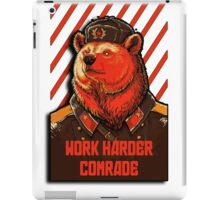 Vote Soviet bear - russian bear meme iPad Case/Skin