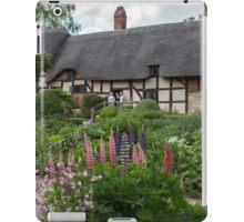 Ann Hathaway's Cottage , Stratford Upon Avon  UK 2 iPad Case/Skin