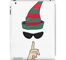 Undercover Elf iPad Case/Skin