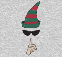 Undercover Elf Kids Tee