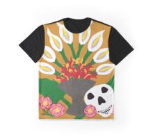 Diego in the Kahlo Lilies Graphic T-Shirt