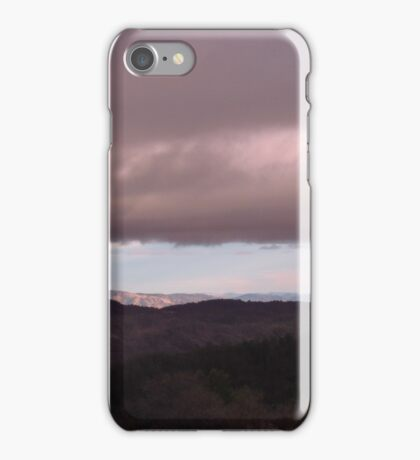 Clouds over Clear Lake iPhone Case/Skin