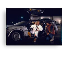 Doc and Marty Canvas Print