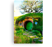 Bag End - Hobbiton, New Zealand Canvas Print