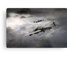 Lancaster Storm Metal Print