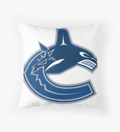 Vancouver Canucks Throw Pillow