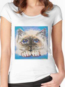 Fluffballs Women's Fitted Scoop T-Shirt