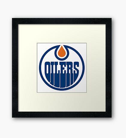 Edmonton Oilers Framed Print