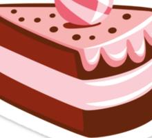 I Love Cake Like A Fat Kid Loves Cake Sticker