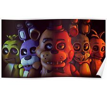FNAF - FIVE NIGHTS AT FREDDY'S Poster