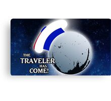 The Traveller Has Come! Canvas Print