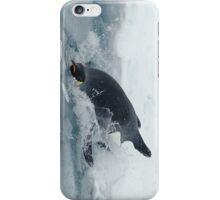 Diving Emperor Penguin iPhone Case/Skin