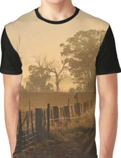 Misty Autumn Graphic T-Shirt
