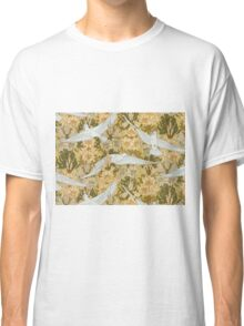 Vintage Art Deco Doves and Flowers Classic T-Shirt