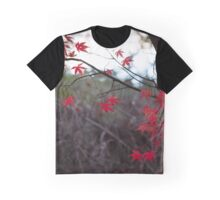 Autumn Glow (Red) Graphic T-Shirt