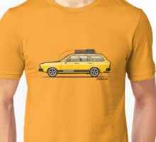 Yellow VDub Dasher (1973) Unisex T-Shirt