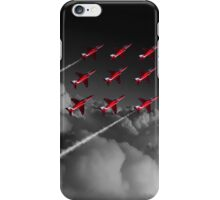 Red Arrows Diamond 9 - Pop iPhone Case/Skin