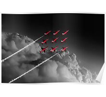 Red Arrows Diamond 9 - Pop Poster