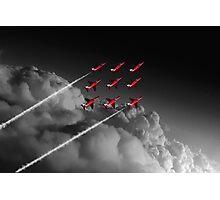 Red Arrows Diamond 9 - Pop Photographic Print
