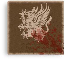 Dragon age grey wardens Canvas Print