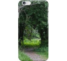 forest landscape iPhone Case/Skin
