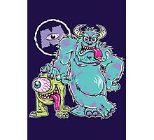 Monsters Fink Photographic Print