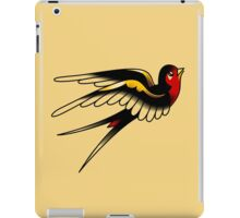 American Traditional Swallow iPad Case/Skin