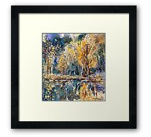 Autumn Colored Framed Print