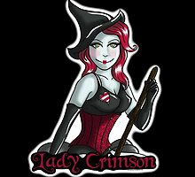 Lady Crimson (Black Designs) by Victoria Thorpe