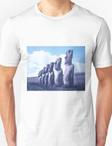 Easter Island Statues Unisex T-Shirt