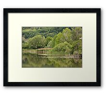 landscape lake Framed Print