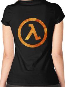 Lambda Symbol Women's Fitted Scoop T-Shirt