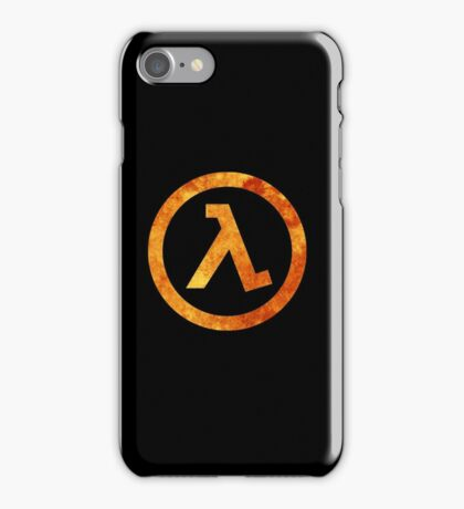 Lambda Symbol iPhone Case/Skin