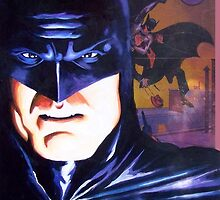 "Alex Ross ""Tribute"" BATS COVER by Pat McNeely"